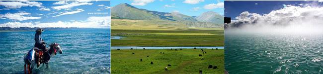 纳木错、藏北草原、羊八井