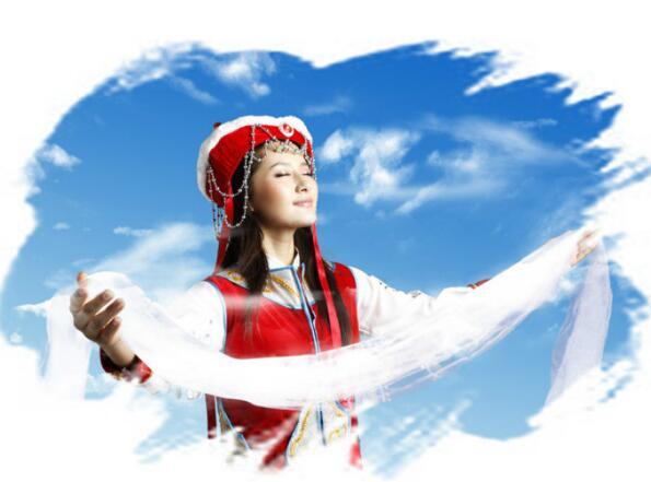 哈达——西藏租车旅游中收获虔诚的
